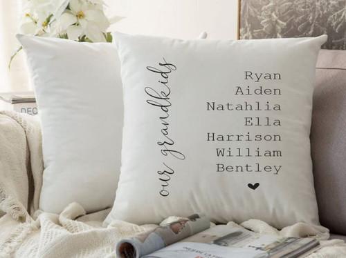 Grandkids Cushion Cover (Milsy Design)