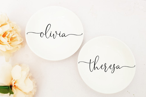 Ring Dish (Olivia Design)