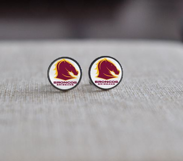 Personalised Sports Club Cuff Links - Stainless Steel