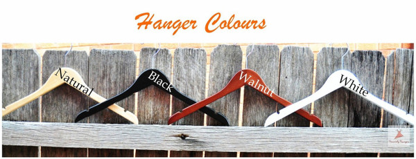 Hanger Colours Available