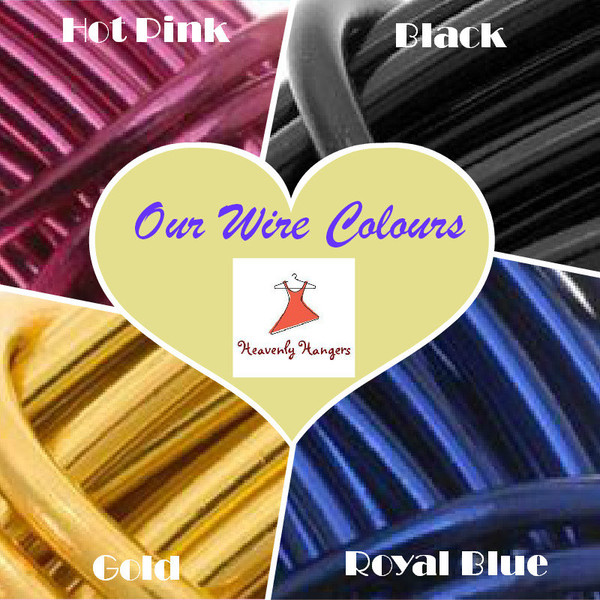 Coloured Wire choices - Silver wire is default