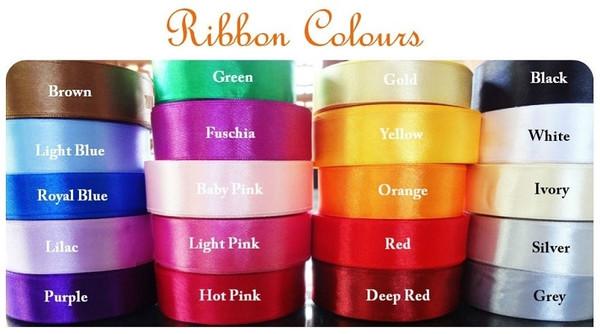 Pick your ribbon colour