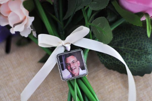 Bouquet Charm (Square) - Jacey Design