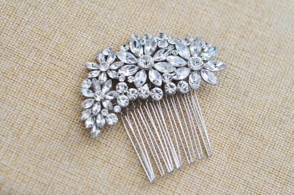 Bridal Hair Comb - Rhinestone