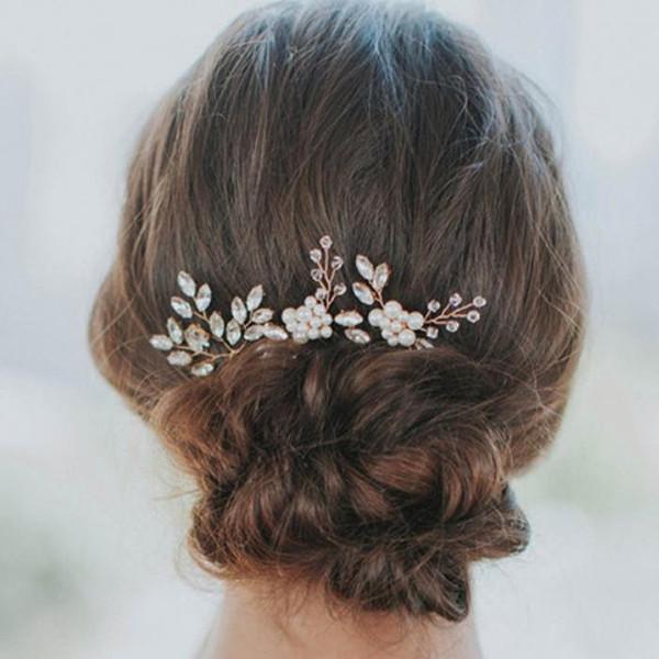 Set of 3 Hairpins - Bridal Hair Pins
