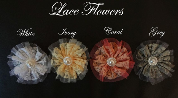 Lace Flower Options