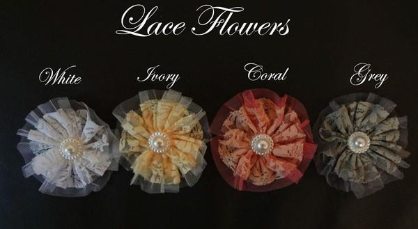 Lace Flower Colours