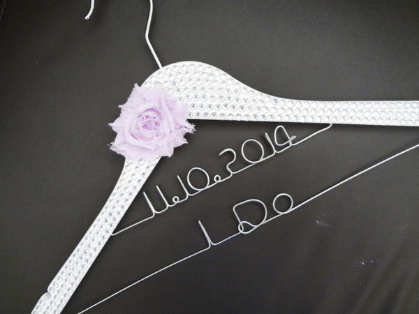 Personalised Adult Crystal Encrusted Hanger