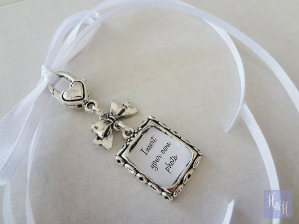 Bouquet Charm - DIY - w/ bow