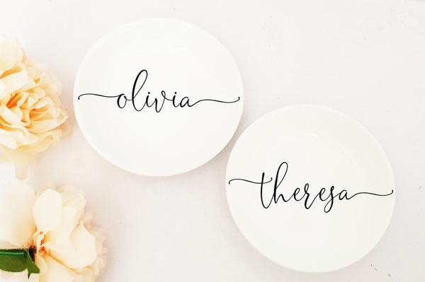 Ring Dish (Olivia Design)