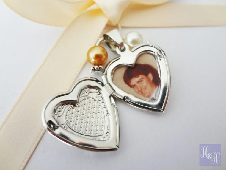Bouquet Charm - Locket (Heart)