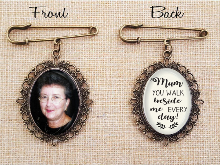 Bouquet Charm (Oval - Double Sided)- Chance Design