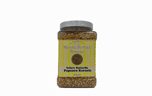 Mother Butter's Yellow Popcorn Kernels