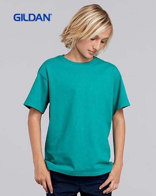 Gildan Youth Ultra Cotton Short Sleeve T-shirt (2000B) Front