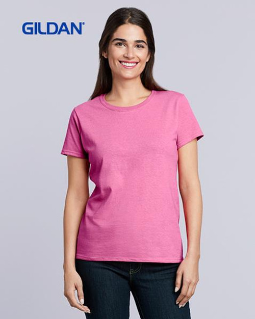 Gildan Ladies Heavy Cotton Short Sleeve T-shirt (5000L) Front