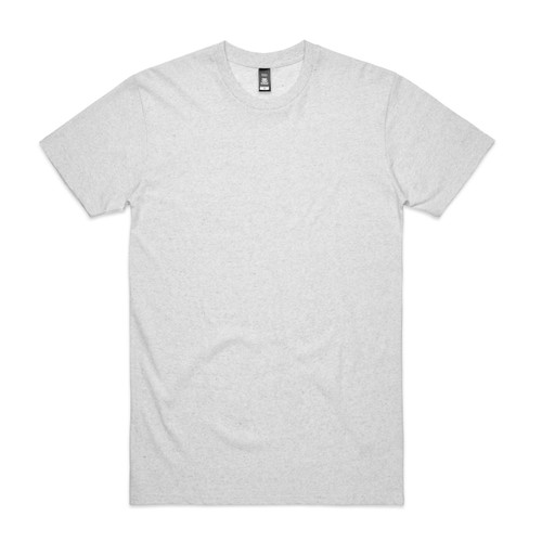 White Staple Marle Tee AS Colour 5001m