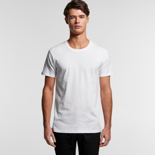 MENS STAPLE ORGANIC TEE front