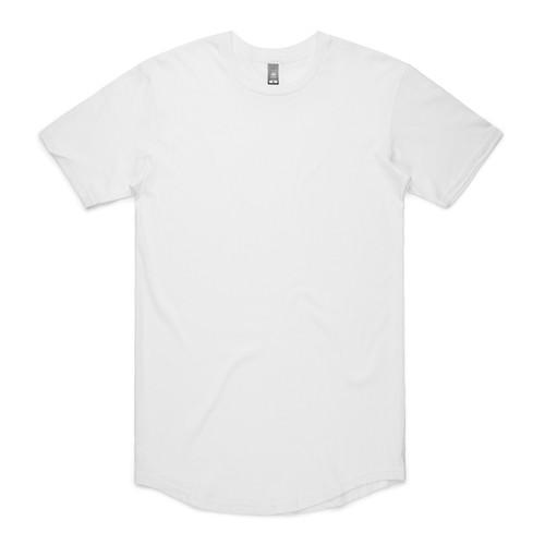 White Ascolour Mens State Tee – 5052