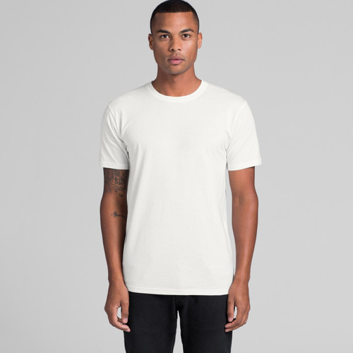 AScolour Mens Organic Tee 5005 Front