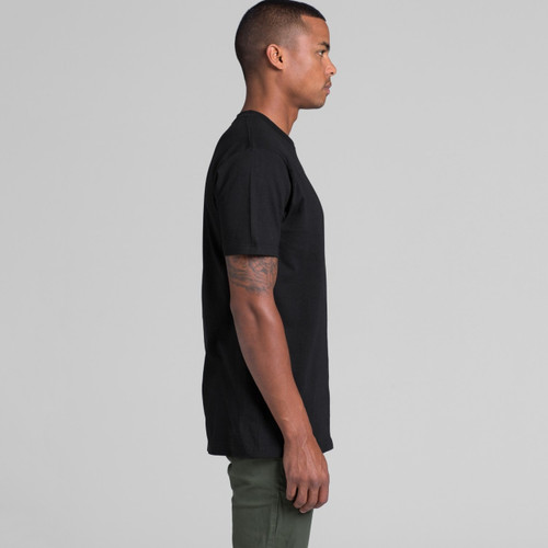 Block Tee As colour Mens Block Tee 5050 Side