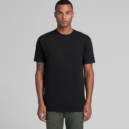 Block Tee As colour Mens 5050 Front