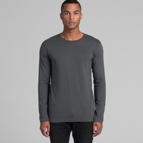 Ascolour Mens Ink L/S Tee - 5009 Front
