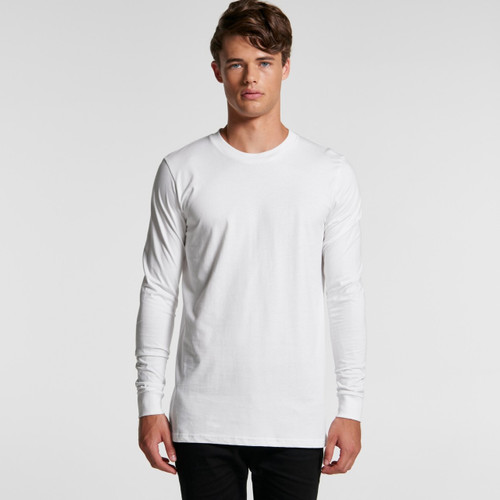 Ascolour Mens Base L/S Tee - 5029 Front