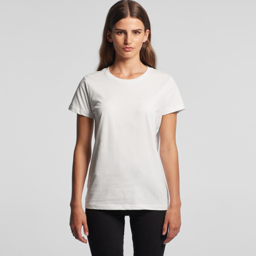 Ascolour Wo's Maple Tee - 4001Front
