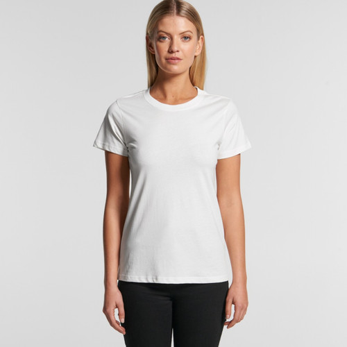 Ascolour Wo's Maple Organic Tee - 4001G Front