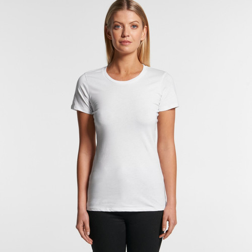 Ascolour Wo's Wafer Tee - 4002 Front