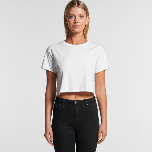 Ascolour Wo's Crop Tee - 4062 Front