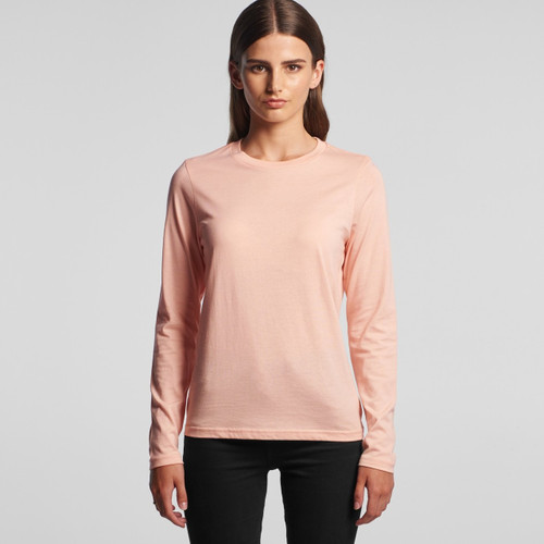 Ascolour Wo's Chelsea Long Sleeve Tee - 4034 Front
