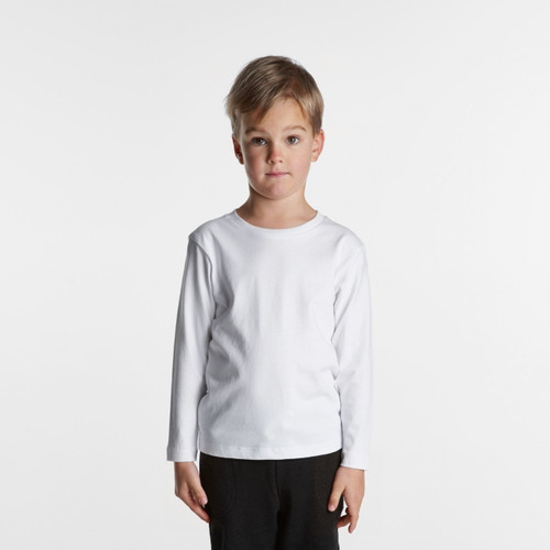 Ascolour Kids Long Sleeve Tee - 3007 Front