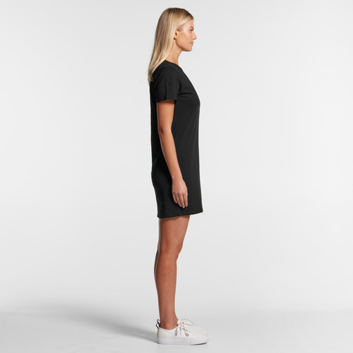 Ascolour Wo's Mika Organic S/s Dress - 4028 Side