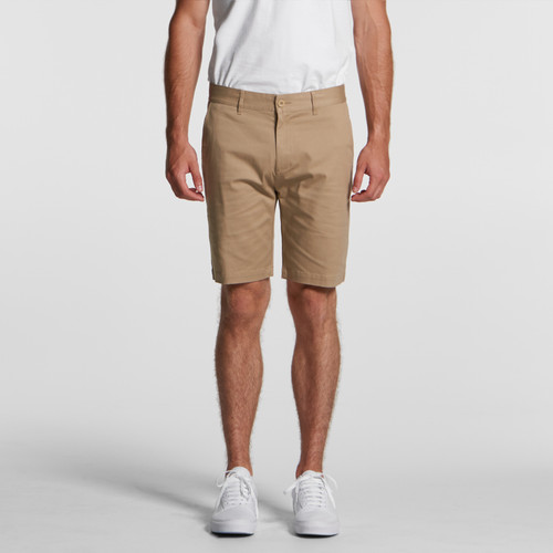 Ascolour Mens Plain Shorts - 5902 Front