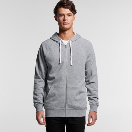 Ascolour Mens Premium Zip Hood - 5122 Front