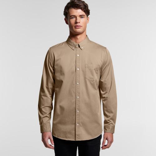 Ascolour Mens Denim Wash Shirt - 5414 Front