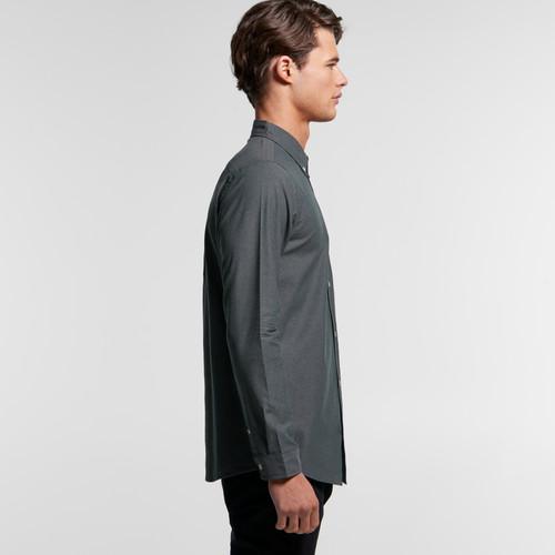Ascolour Mens Chambray Shirt - 5415 Side