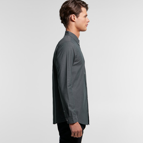 Ascolour Mens Chambray Shirt - 5415 Side
