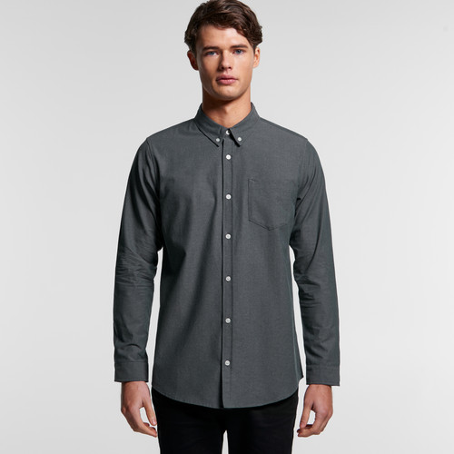 Ascolour Mens Chambray Shirt - 5415 Front