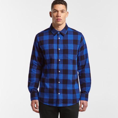 Ascolour Mens Check Shirt - 5417 Front