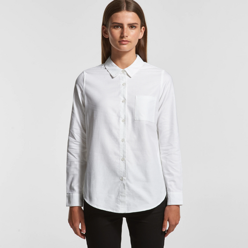 Ascolour Wo's Oxford Shirt - 4401 Front