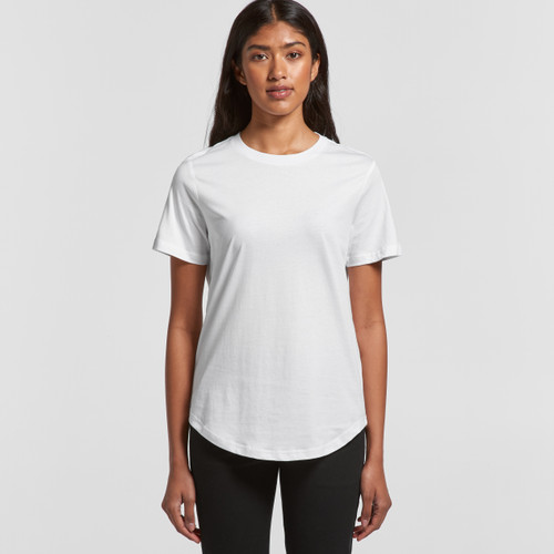 Ascolour Wo's Drop Tee - 4052 Front