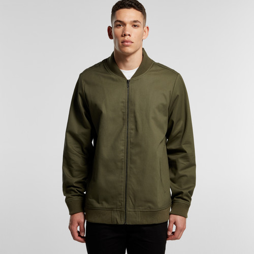 Ascolour Mens Bomber Jacket - 5506 Front