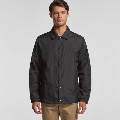 Ascolour Mens Coach Jacket - 5520 Front