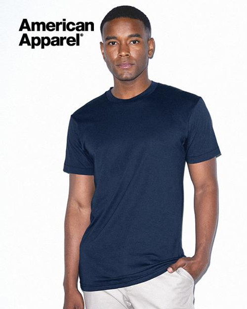 American Apparel Polycotton Short Sleeve T-shirt (BB401W) Front