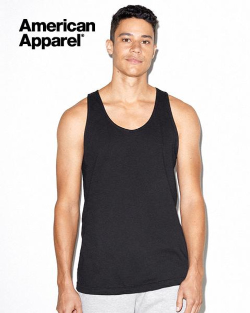American Apparel Cotton Tank Top (2408W) Front