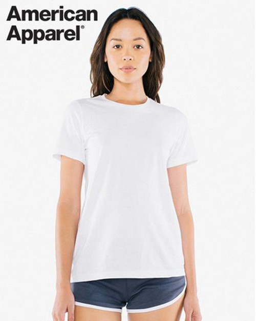 American Apparel Womens Cotton Short Sleeve T-shirt (2102W)