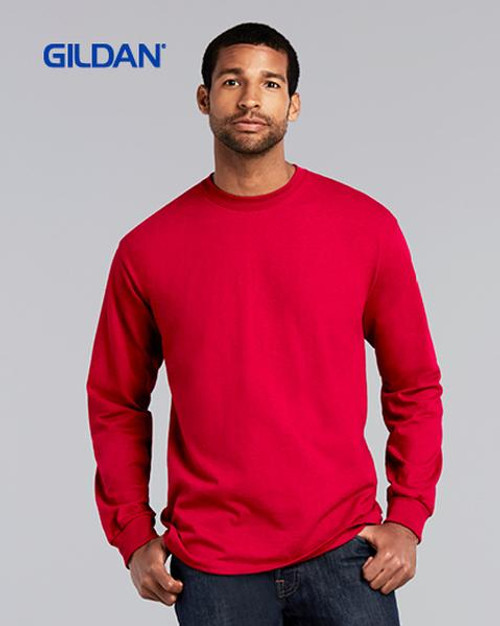 Gildan Ultra Cotton Long Sleeve T-shirt (2400) Front