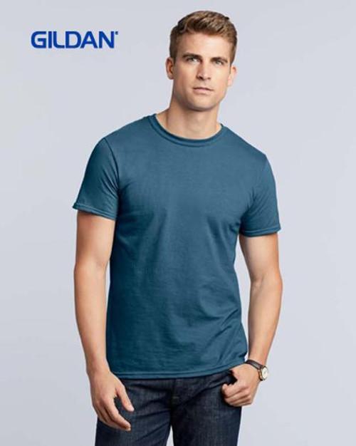 Gildan Softstyle Short Sleeve T-shirt (64000) Front